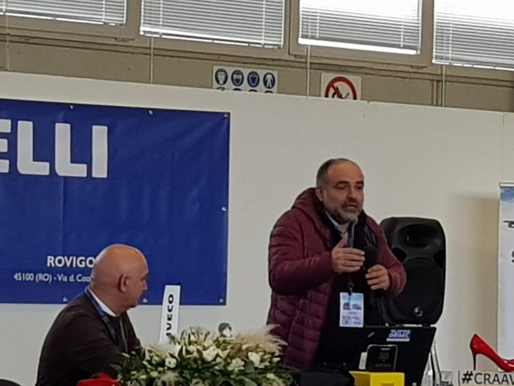 Mattia Baschirotto del Consorzio CRAAV